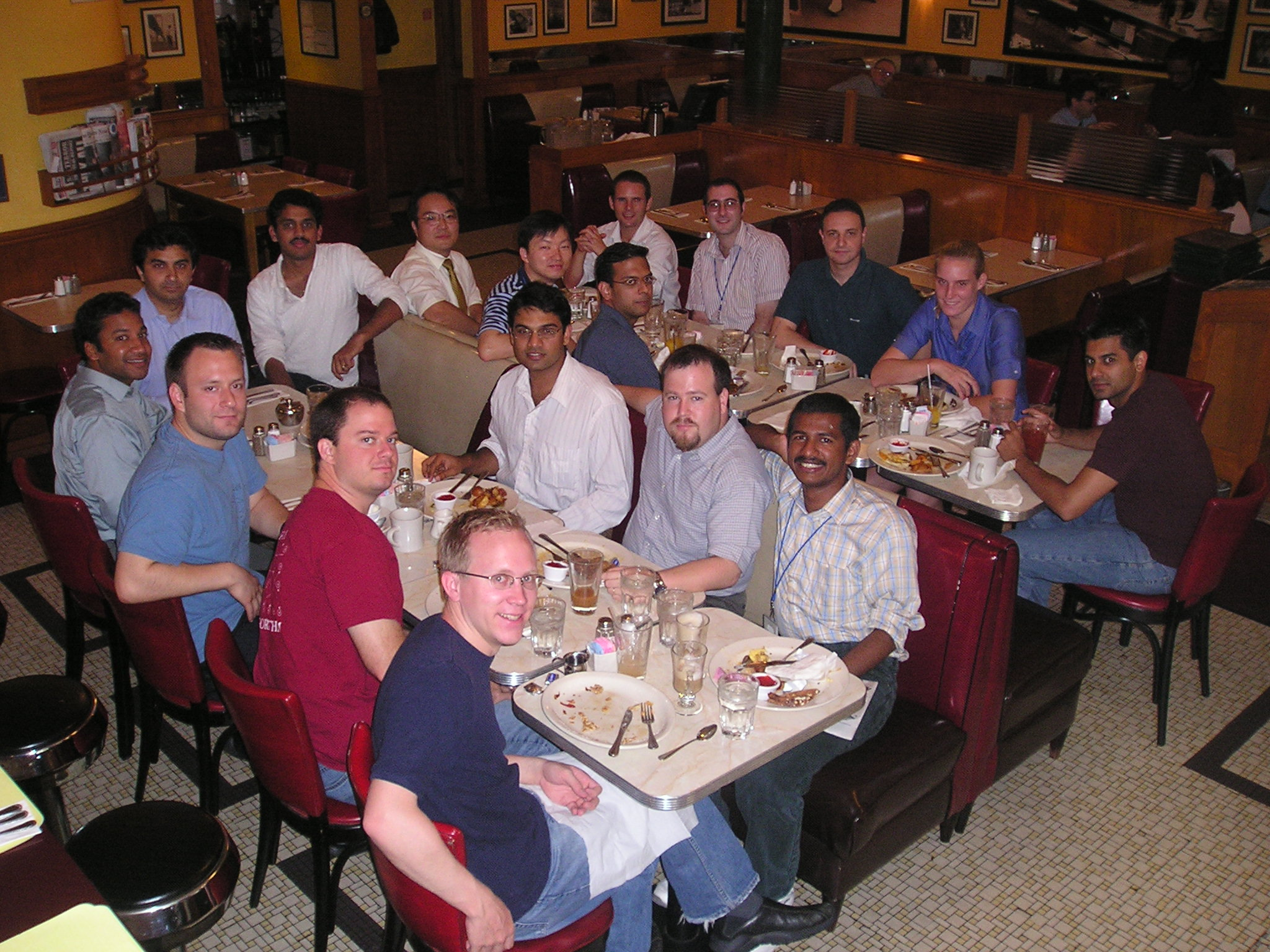 Teamcore Breakfast 2004