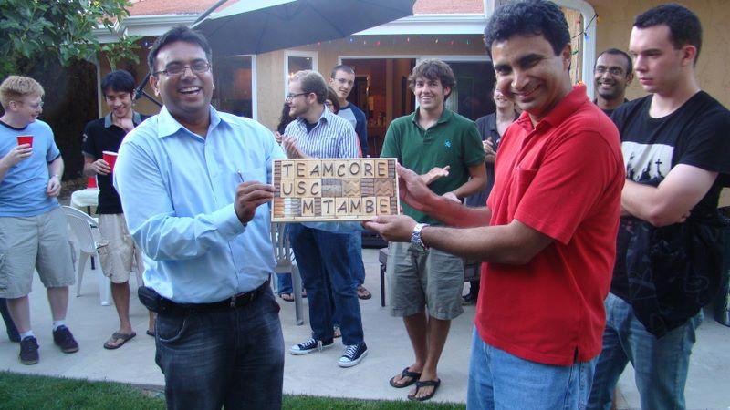 Teamcore Dinner 2009