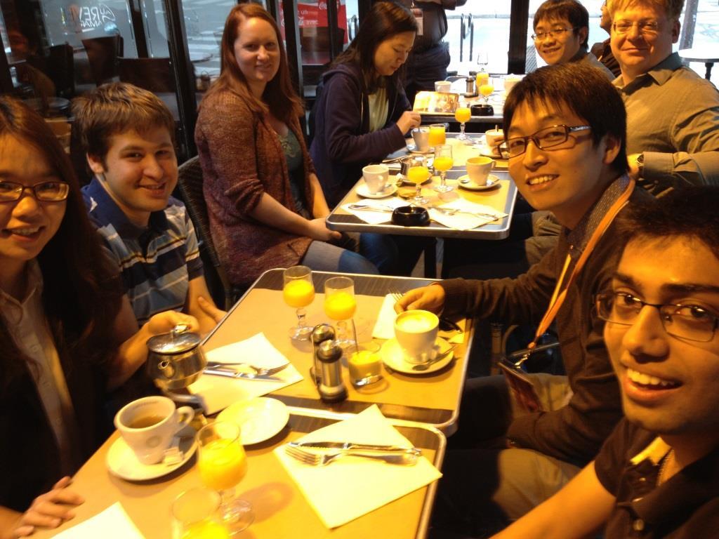 Teamcore AAMAS Breakfast 2014