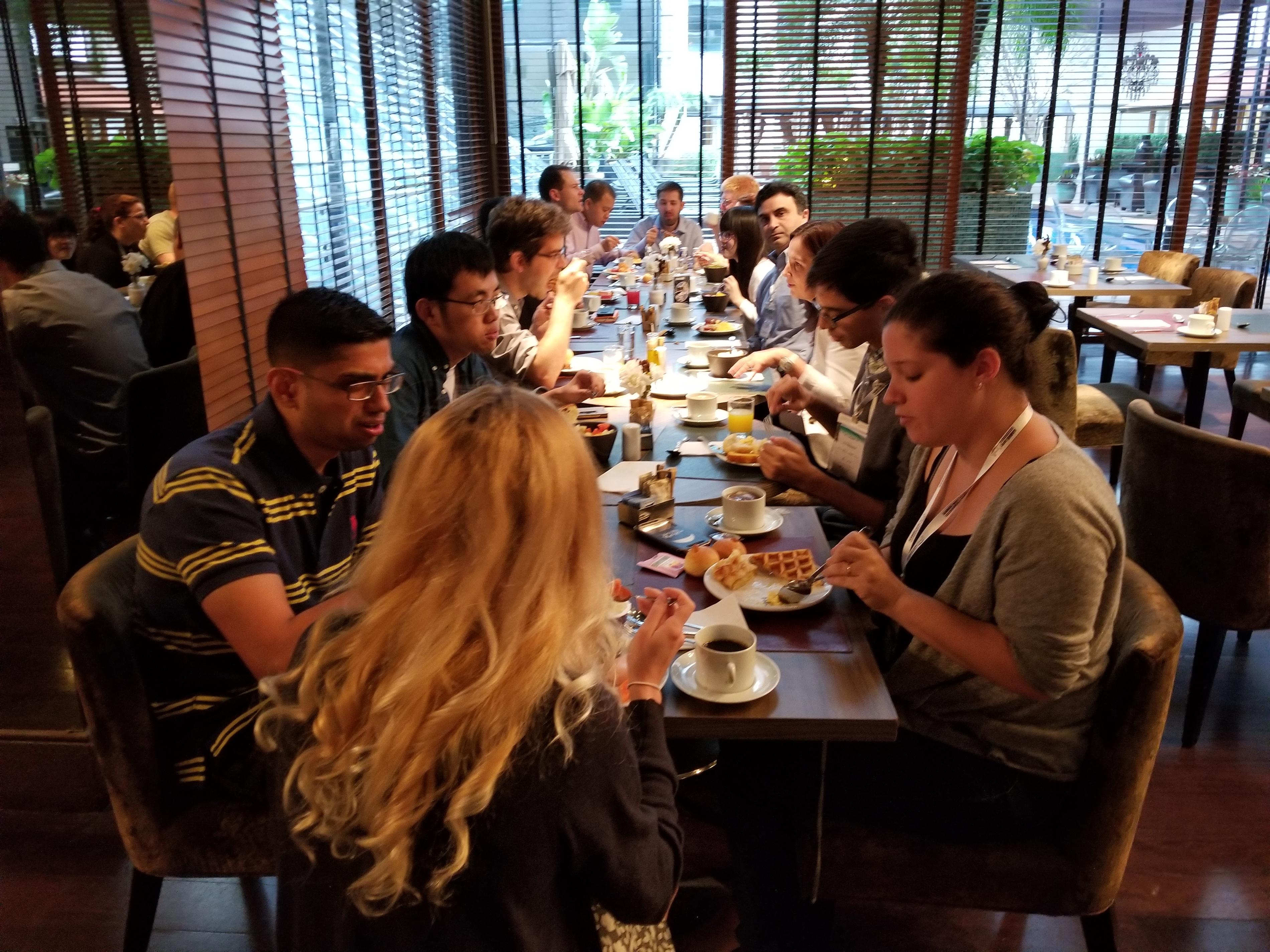 Teamcore AAMAS Breakfast 2017