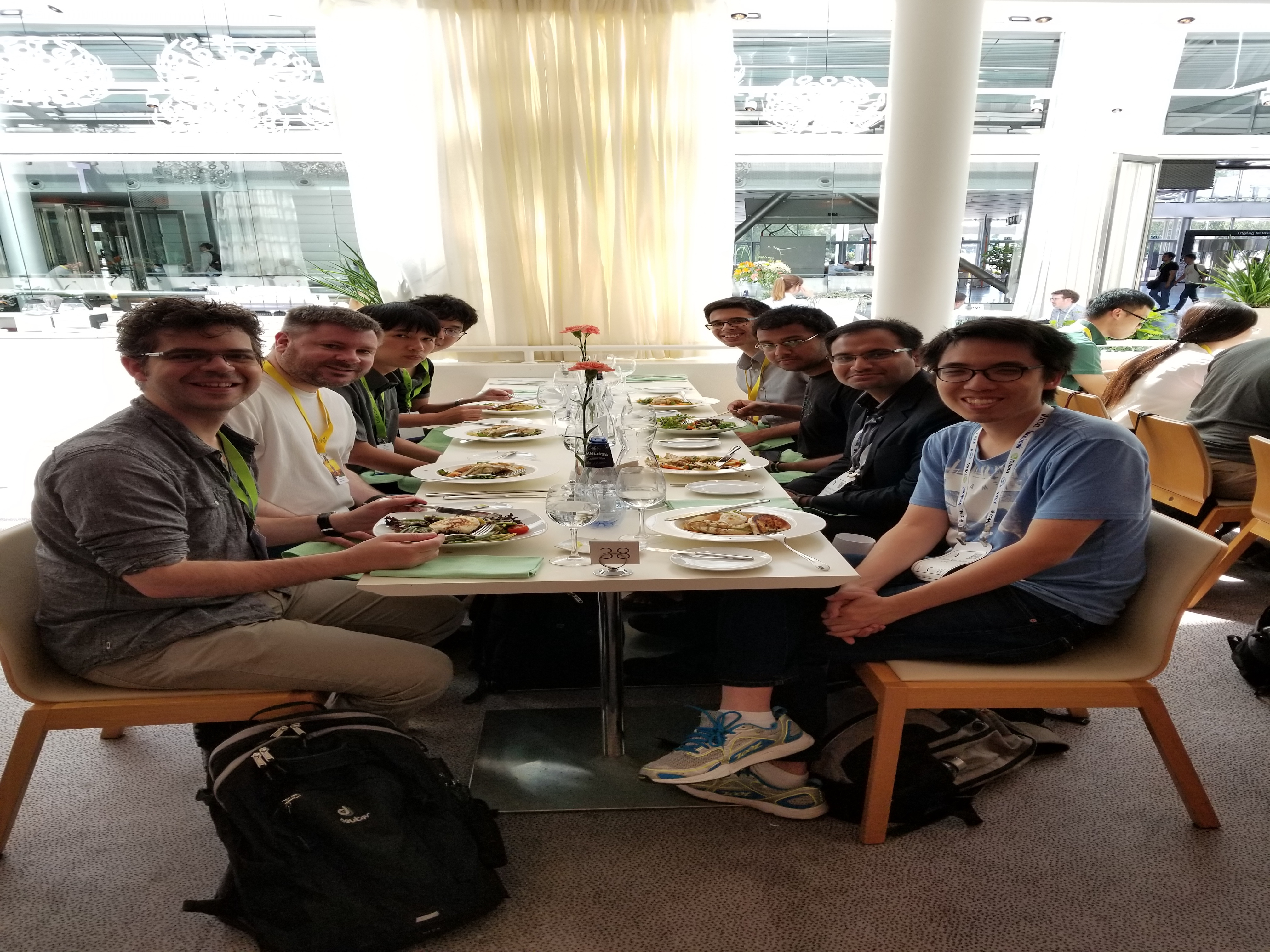 Teamcore 2018 lunch